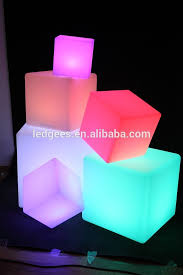 colorful furniture for sale. 50cm Plastic Colorful Led Cube Table Furniture Sale Chairs And Tables For E