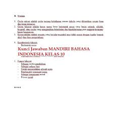 Kunci jawaban buku paket bahasa indonesia kelas 10 kurikulum 2013 halaman 36. Kunci Jawaban Buku Mandiri Sejarah Indonesia Kelas 10 Kurikulum 2013 Ilmu Soal