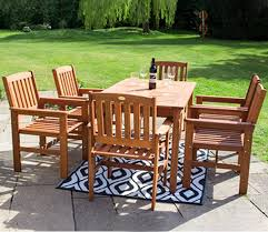 oakham by liz francis wooden dining sets from 349 99 kennet garden furniture