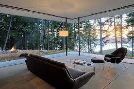 View In Gallery Breathtaking Scenery Outside Becomes The Canvas For The Open  Living Room!