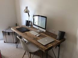 timber office desk. Amazing Timber Office Desk Industrial Chic Reclaimed Custom Hairpin Leg Tables - Furnishings Is An Important Part Of Your Workplace.
