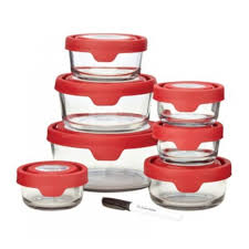 anchor hocking glass storage containers set designs