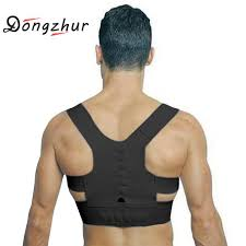 S-XL Adjustable Back Therapy Posture Corrector Brace Shoulder Support For Men Women Adult Braces Magnet Supports Cheap S XL