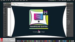 Trampoline Quotes! Widget | Adobe Muse CC Tutorial | Muse For You ...