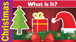Learn <b>Christmas</b> Vocabulary   What Is It?   English <b>Pattern</b> Practice ...