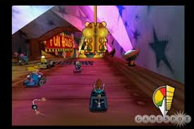 cartoon network racing is a bad game hmm a kart racer with a pinball machine level where have we