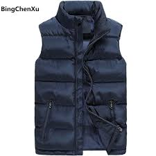 zipper vest men new stylish 2018 autumn winter warm sleeveless jacket waistcoat mens vest fashion casual