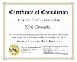 What Is Course Completion Certificate Free Certificate Of Completion Template Sample With Example
