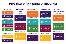 Block Scheduling Colleges Block Schedule About Piedmont High School
