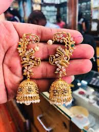 Long Heavy Earrings Design 55 Beautiful Gold Jhumka Earring Designs Tips On Jhumka