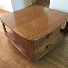 tap and hold to zoom image ercol pandora s box coffee table