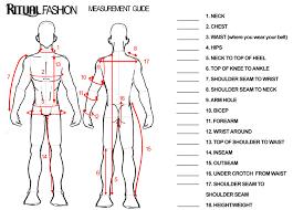 body measurement chart for men 80 studious basic body measurement chart