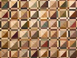 Homespun Squares Quilt -- gorgeous skillfully made Amish Quilts ... & ... Country Colors Homespun Squares Quilt Photo 3 ... Adamdwight.com