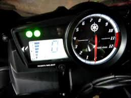 yzf r15 speedometer on yamaha fz150i yzf r15 speedometer on yamaha fz150i