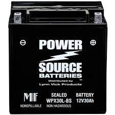 Magna Power Battery Application Chart Wpx30l Bs 30ah Sealed Battery Replaces Extreme Magna
