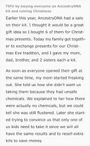 so this time there was a happy ending for this family but let this be a warning as to what could happen by all means treat yourself to a dna testing kit