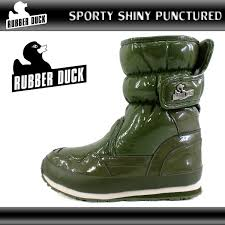 Rubber Duck Snowjoggers Sporty Rubber Duck Snow Joggers Sporty Boots Shiny Punctured Shiny Cauplet Olive Snow Boot 204kkkk 33tjc Ladys