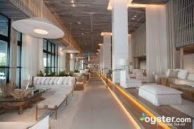 The chic lobby has eco-friendly features and comfy couches for guests to  relax. At one time the Gansevoort Miami ...
