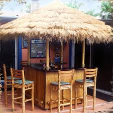 tiki bar blueprints palm thatch s