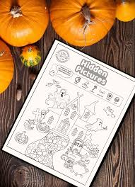 They are fun and very educational, and also appropriate for. Spooktacular Halloween Hidden Pictures Printable Too Adorable