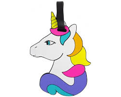 <b>Kawaii Factory</b> Бирка на багаж Rainbow unicorn - Акушерство.Ru