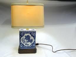 asian desk lamp cooper small table porcelain desk lamp shade oriental tea box cooper lamp parts