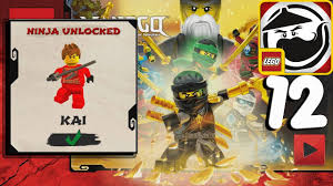 LEGO Ninjago WU CRU - KAI UNLOCKED Gameplay Walkthrough Part 12 (ios,  Android) - YouTube