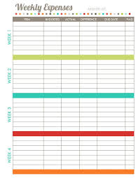 budget spreadsheet printable 17 brilliant and free monthly budget template printable you need to grab