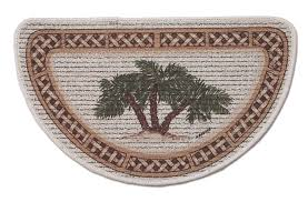 10 photos to palm tree kitchen rugs