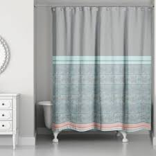 gray and blue shower curtain. pastel boho tribal shower curtain gray and blue a