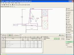cantilever wall design and ysis of cantilever