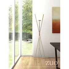 icicle floor lamp brushed brass metal floor lamp with white frosted glass globe lumisource icicle floor icicle floor lamp