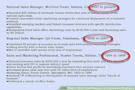 How To Write Good Resumes To Impress The Employers 40 Steps Inspiration What A Good Resume Looks Like