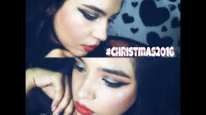 evening makeup look 2016 holiday giveaway make with hair up ritika
