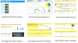 Daily Status Report Template Excel Weekly Project Free Monthly For