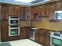 dark wood kitchen cabinets walnut