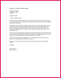 Personal Recommendation Letter Samples Reference Template