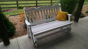 Pine Royal English Glider from DutchCrafters Amish Furniture
