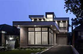 Small Modern Home With Minimalist Interiors by Altius Architecture,  Toronto, Canada