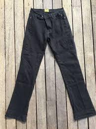 Draggin Jeans Size Chart Draggin Jeans Kevlar Motorcycle Pants Ladies Size 12 Ca40263