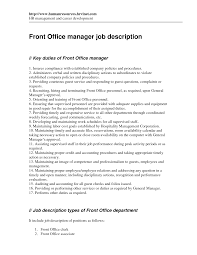 office manager sample job description office manager job description template pictures hd artsyken