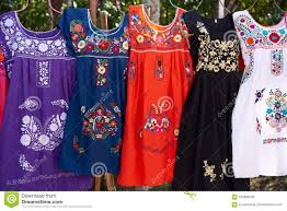 Image result for mexican floral blouse red