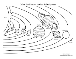 Small Picture Color the Solar System
