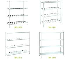 stainless steel shelves ikea stainless steel shelves stainless steel shelf kitchen 4 layers stainless steel shelf plate rack kitchen storage rack stainless