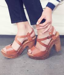 vintage style platforms shoes like these have really made a comeback camara heel on shoemint