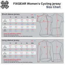 Jersey Size Chart Size Chart