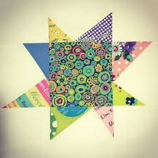 1157 best quilts images on Pinterest | Patchwork quilting ... & wonky star quilt block | wonky star block 1 of 2 for san diego modern quilt Adamdwight.com
