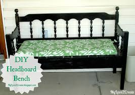 Headboard Bench Plans Headboard Bench Or Loving Referred To As The Puzzle Bench My