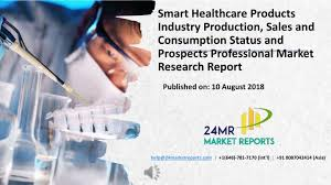 Market Research Delectable PPT Smart Healthcare Products Industry Production Sales And