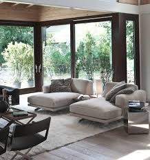 View in gallery Soft contemporary living room with chaise lounges in cool  gray
